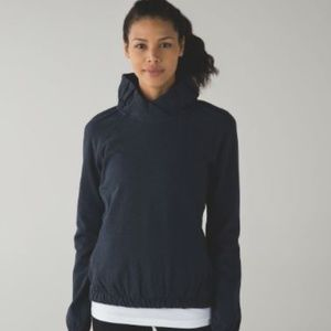 lululemon athletica Tops - Lululemon After All Pullover in Naval Blue